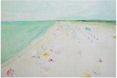 Sally Benedict King beach abstract art...LOVE