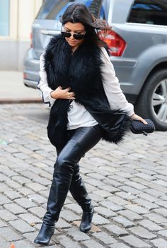 """kimydash: """"Out in New York City (February 24, 2014) """""""