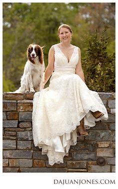 Raleigh wedding photographer, Dajuan Jones with In His Image Photography, share's Elizabeth's Duke Gardens bridal session.  gardens.duke.edu
