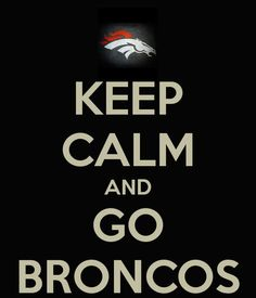 IT IS GAME DAY!!!!!!!! #Broncos #Denver