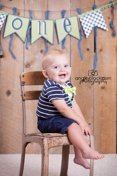 one year boy photography