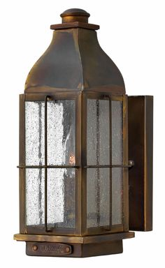 Hinkley Lighting - Bingham 2040SN  (for garage exterior -- see also hanging lantern for over front door)