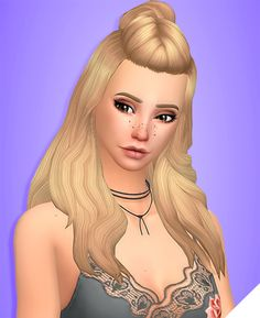 NICOLE HAIR• BGC • 18 EA Colors • Hat Compatible • Recolors Allowed(Don't include the mesh) • Also recolored in @dustflwr Anathema Palette • Custom Thumbnails for all files • Works with my Jisoo ombre...