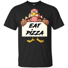 Turkey Eat Pizza Funny Thanksgiving KID T-Shirt - Funny Thanksgiving Shirts - Ideas of Funny Thanksgiving Shirts #shirts #thanksgiving #thanksgivingshirts -  Turkey Eat Pizza Funny Thanksgiving KID T-Shirt