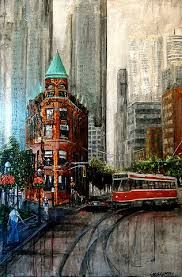 Image result for Cityscape paintings