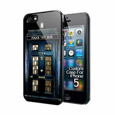 Tardis Doctor Who Sherlock Holmes Door 221B Apple Iphone 5 case US $16.89