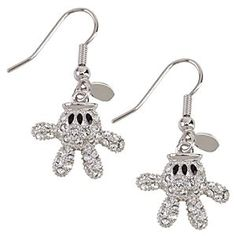 Disney Mickey Mouse Glove Earrings by Arribas | Disney StoreMickey Mouse Glove Earrings by Arribas - Let Mickey lend you a fashionable hand or two with his signature gloves. These Mickey Mouse Glove Earrings by Arribas have a sparkly, all Swarovski crystal side while the flip side is white enamel.