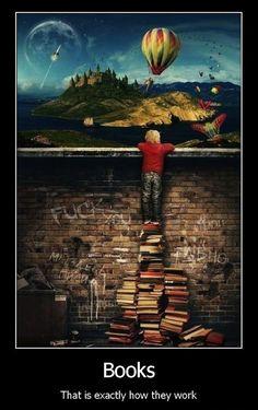 Os livros fazem-nos crescer!