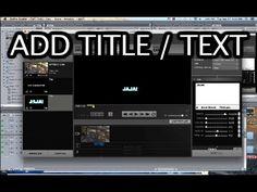 Tip #220 GoPro - Studio 2.0 Adding text / title