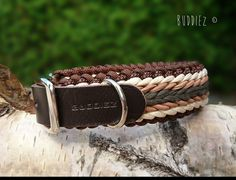 Materiaal Mix halsbanden - Buddiez, handgemaakte producten voor hond en paard