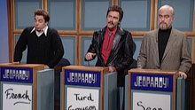 Watch Saturday Night Live: Celebrity Jeopardy: Stewart, Reynolds and Connery online | Hulu Plus