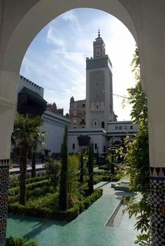 Beautiful Mosque - Paris