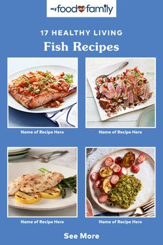 Whether you're looking to have a delicious dinner party with fish as your main show-stopper, or just need a recipe in a pinch, check out our list of Healthy Living Fish Recipes! Find tasty and easy-to-make ideas like Homemade Tilapia Fish Tacos, Baked Salmon with Veggies, and Cheesy Mushroom-Fish Bake.