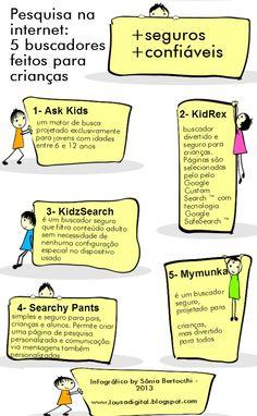 .: 5 buscadores feitos para crianças -> pesquisa na internet