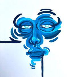 Small Canvas Art, Diy Canvas Art, Arte Grunge, Arte Sketchbook, Funky Art, Art Drawings Sketches Simple, Hippie Art, Psychedelic Art, Collage Art