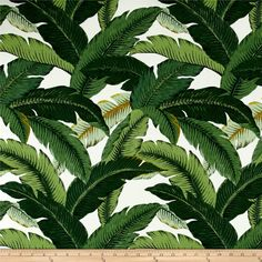 Tommy Bahama Indoor/Outdoor Island Hopping Emerald from @fabricdotcom   Screen printed on medium-weight (6 oz.) 100% polyester, this bestselling Tommy Bahama versatile fabric is perfect for your outdoor porch and indoor sun room. Its versatility is only matched by its durability. This fabric is both soil and stain resistant and water and oil repellent, making it the perfect fabric for life's messes. Create chair pads, cushions, toss pillows, slipcovers, upholstery, tote bags or heavy-duty…