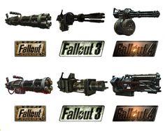 Как менялся дизайн оружия в играх серии Fallout Fallout, Fallout 2, Fallout 3…