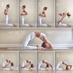 @ - How to: Kapotasana on This pose has always been me . - @ – How to: Kapotasana on This pose has always been my pose … – Yoga - Alo Yoga, Yoga Bewegungen, Ashtanga Yoga, Yoga Flow, Yoga Meditation, Yoga Fitness, Fitness Workouts, Easy Yoga Poses, Yoga Poses For Beginners