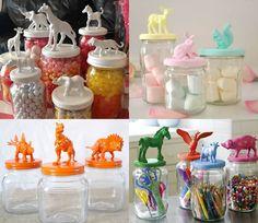 Animals de plàstic per pintar i decorar amb els nens