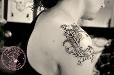 #flower #botanic #tattoo #epureatelier #wildflower