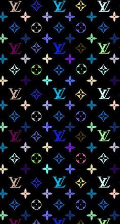 Louis Vuitton x Supreme pattern Wallpaper | Wallpapers ...