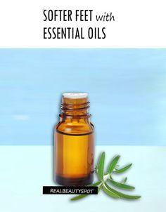 ESSENTIAL OILS FOR SUPER SOFT FEET