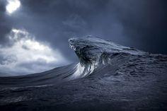 As montanhas de mar na Austrália - Observador