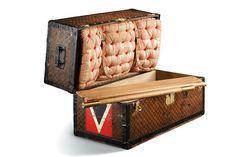 """Louis Vuitton - Trunk Bed 1892 """"Volez, Voguez, Voyagez"""" Grand Palais, Paris"""