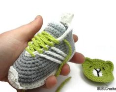 Crochet Baby Pattern Comfy Baby Sneakers Crochet Baby by meinuxing