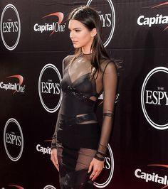 Kendall Jenner en Messika aux Espys Awards