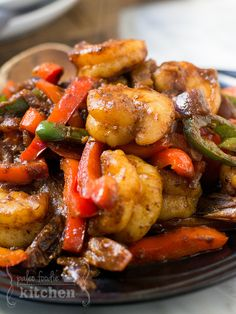 Spicy Sizzling Shrimp | http://paleofoodiekitchen.com/2015/04/spicy-sizzling-shrimp/
