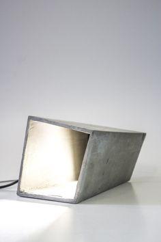 Concrete lamp. Great modern design | jebiga | #lamp #concrete #design #productdesign