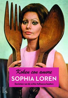 Spaghettisaus a la Sophia Loren - Koken con amore - omslag