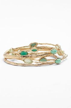 Kendra Scott 'Bella' Bangles (Set of 5) available at #Nordstrom