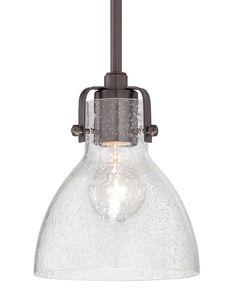 """Minka Lavery 2244-267C 1 Light 8"""" Height Indoor Mini Pendant in Dark Brushed Bro Dark Brushed Bronze Indoor Lighting Pendants"""