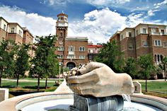 One of our favorite public art pieces on the Texas Tech campus. www.ttu.edu