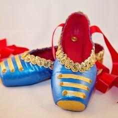 Nutcracker Ballet Soldier Doll Pointe Shoes
