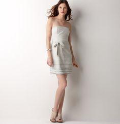Loft Strapless Beaded Dress: use McCall's 4440