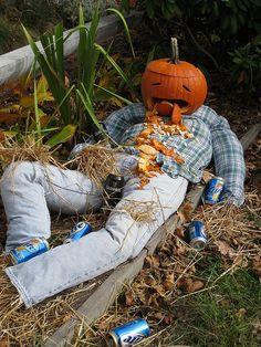 Provincetown MA Halloween displays by Boston Runner, via Flickr