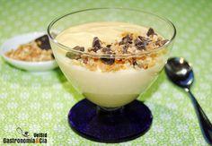 Crema de leche de almendras y Amaretto. Ideal para rellenar un bizcocho!!