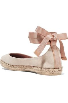 Espadrille flats by AERIN