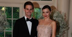 #Snapchat CEO #EvanSpiegel And Supermodel #MirandaKerr Get Engaged