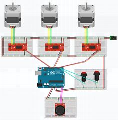 So far, we've covered the basics of putting together code that moves a stepper motor; we even added some push buttons which allows us to move in either direction of rotation. But what if we want to...