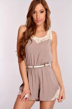 632c05444a9 33 Incredible Summer Outfits To Wear Now! Rompers For TeensCute ...