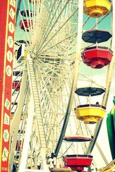 Santa Monica pier- photo by me :)