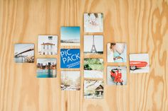 Beautiful PicPack magnets, photographed by brancoprata