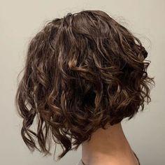 Thin Curly Hair, Short Hair Cuts, Perm For Thin Hair, Perms For Short Hair, Wave Perm Short Hair, Short Curls, Permed Hair Medium Length, Short Hair For Curly Hair, Medium Length Curly Hairstyles