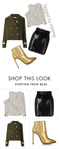 """""""Untitled #459"""" by taggedbykimmie15 on Polyvore featuring Monse, Yves Saint Laurent and P.A.R.O.S.H."""