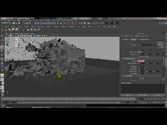 [tutorial | maya nCloth]  geometry shatterize / destruction by collision https://www.youtube.com/watch?v=yIlutb0uEC8