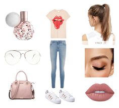 """Retro that looks so right."" by tonifash on Polyvore featuring MadeWorn, Givenchy, adidas, Lime Crime, Avon and NIKE"